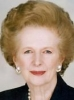 Margaret Thatcher 57%