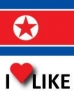 Popularity of North Korea, I like 36%