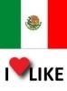 Popularidad Mexico, Me gusta 76%