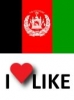 Popularity of Afghanistan, I like 33%