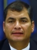 Rafael Correa Delgado 63%