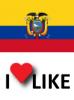 Popularidad del Ecuador, Me gusta 79%