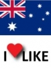 Popularity of Australia