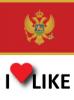 Popularnost Crna Gora, volim 42%