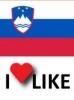 Priljubljenost Slovenije, I like 67%