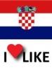 Popularnost Hrvatska, volim 41%