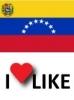 Popularidad de Venezuela, Me gusta 80%