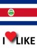 Popularidad de Costa Rica, Me gusta 71%