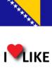 Popularnost Bosne i Hercegovine, volim 20%
