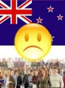 Political situation in New Zealand - dissatisfied