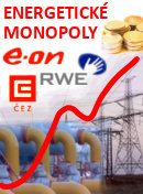 foto Energetické monopoly - regulovat