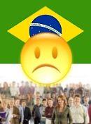 Situação política no Brasil - insatisfeito