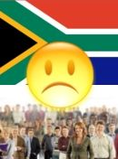 Pol. situation in South Africa - dissatisfied