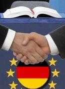 Foto D. und EU: Vertiefung der Integrierung