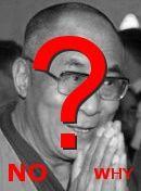 NO! Dalai Lama