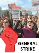 фото  General strike in the USA