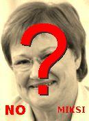 NO! Tarja Halonen