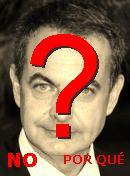 NO! José Rodríguez Zapatero