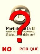 NO! Partido de «la U»