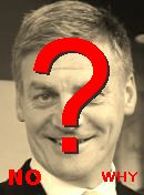 NO! Bill English