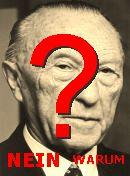 NO! Konrad Adenauer