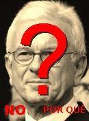 NO! Josep Borrell