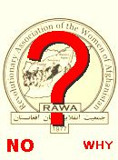 NO! RAWA (Afghanistan)