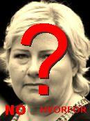NO! Erna Solberg