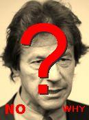 NO!  عمران خان