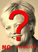 NO! Kristin Halvorsen