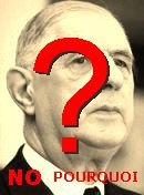  NO! Charles De Gaulle