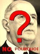 NO! Charles De Gaulle