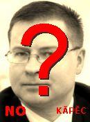 NO! Valdis Dombrovskis