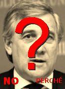 NO! Antonio Tajani