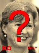 NO! Christine Milne