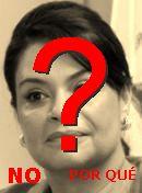 NO! Roxana Baldetti