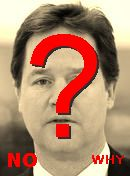 NO! Nick Clegg