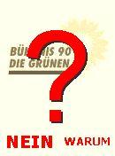 NO! B'90/Grüne