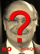 NO! Geraldo Alckmin