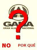  NO! GANA