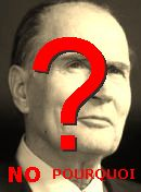 NO! François Mitterrand