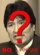 NO! E.Morales