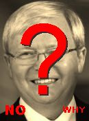 NO! Kevin Rudd