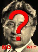 NO! پرویز مشرف