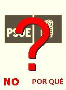 NO! PSOE
