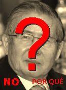 NO! Alberto Fujimori