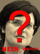 NO! Christine Lieberknecht