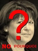 NO! Martine Aubry
