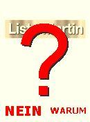 NO! Liste Martin