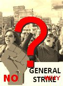 NO! General strike in the USA